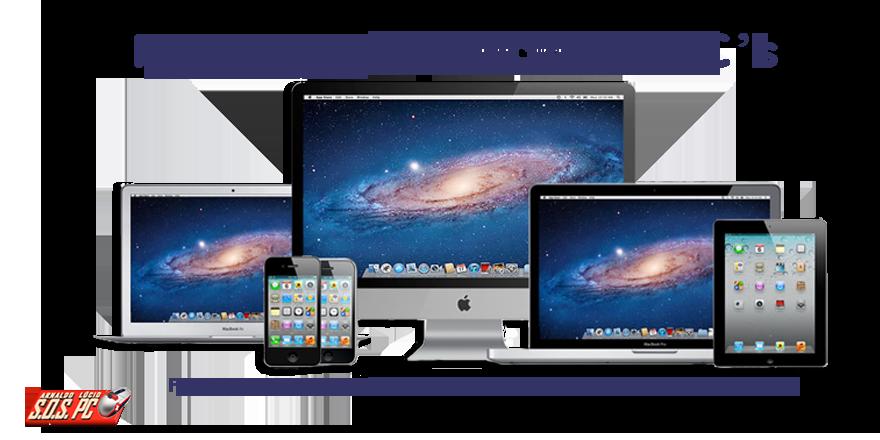 Reparação de Computadores Mac - SOS PC – Venda Upgrade e Reparação de material informático. Recuperação de dados e Webdesign.